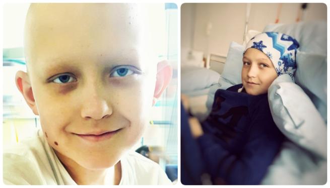 12-letni Norbert drugi raz staje do walki z nowotworem /siepomaga.pl /