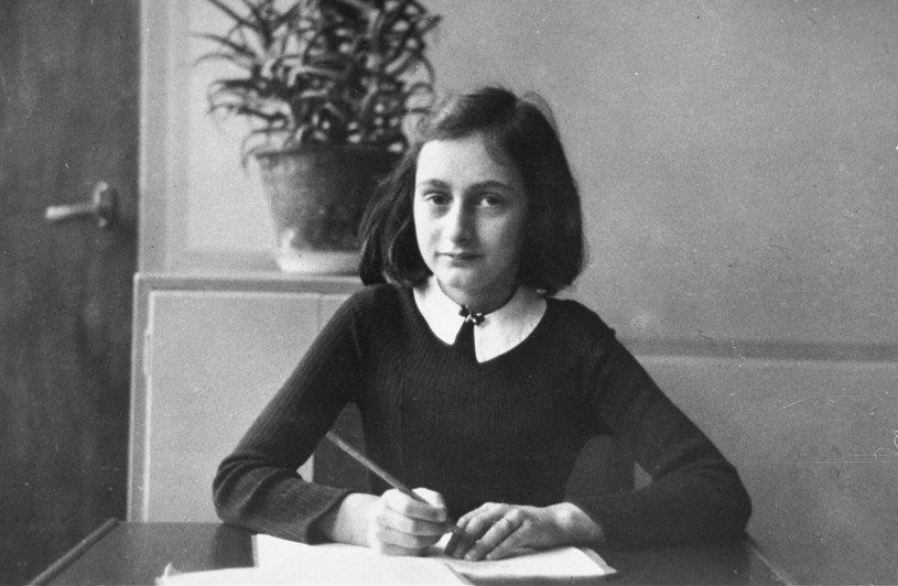 12-letnia Anna Frank /ANNE FRANK HOUSE/USHMM /East News