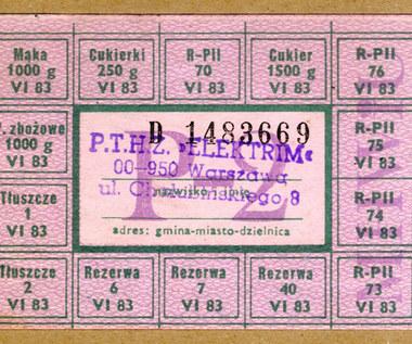 12 sierpnia 1976 r. Wprowadzono kartki na cukier