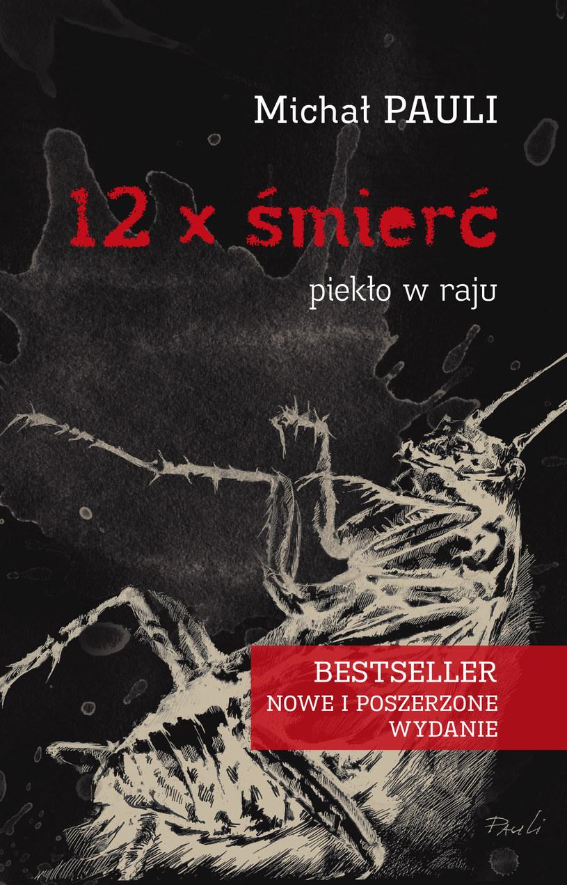 12 x śmierć - okładka książki /materiały prasowe