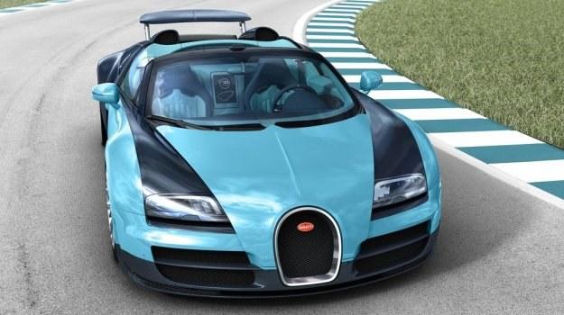 1200-konny Bugatti Veyron Grand Sport Vitesse to najszybszy roadster świata - rozwija prędkość 408,84 km/h. /Bugatti