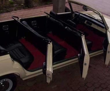 125 p cabrio, tzw. jamnik. Jeździł nim papież