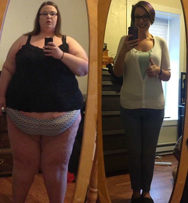 126 kilogramów mniej w 2 lata! /chemmon1 /imgur.com