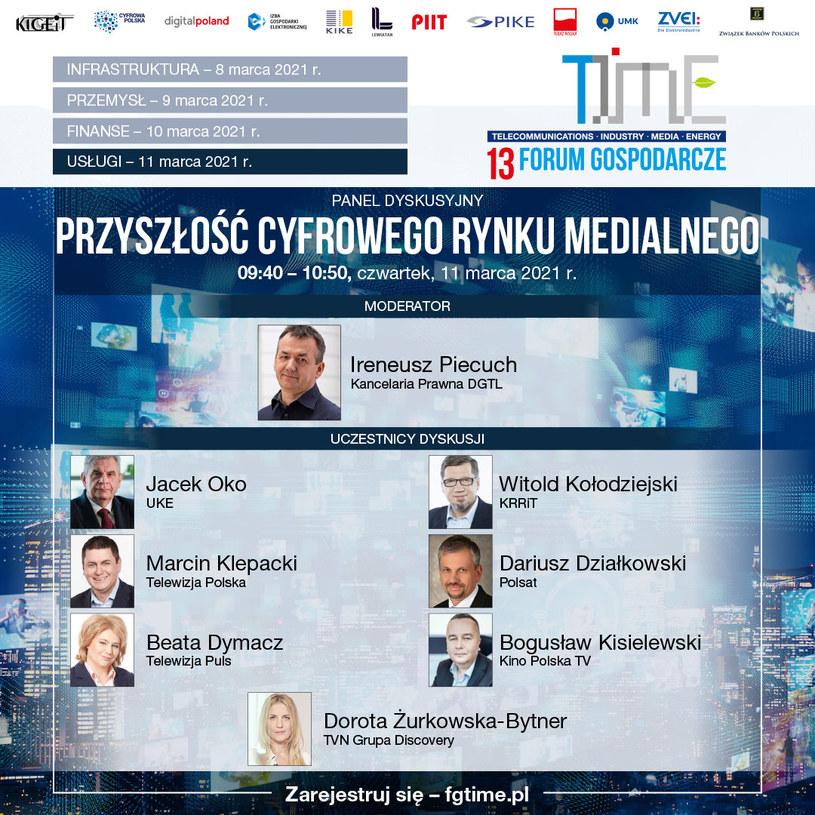 13 Forum Gospodarcze Time. /