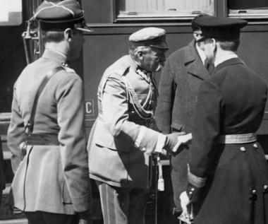 13 kwietnia 1932 r. Józef Piłsudski w Rumunii