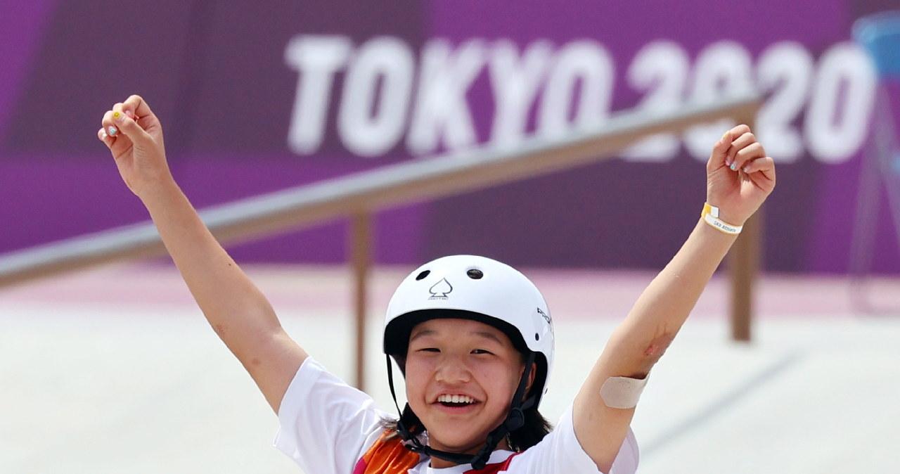 13-letnia Japonka Momiji Nishiya zdobyła złoty medal olimpijski