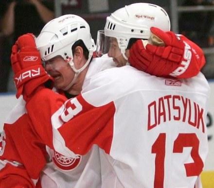 """13"" na plecach czasem pomaga. Canadiens-Red Wings 1:4 /AFP"