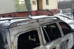 13 spalonych aut w Rudzie Śląskiej