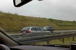 130 km/h autostradą pod prąd! /