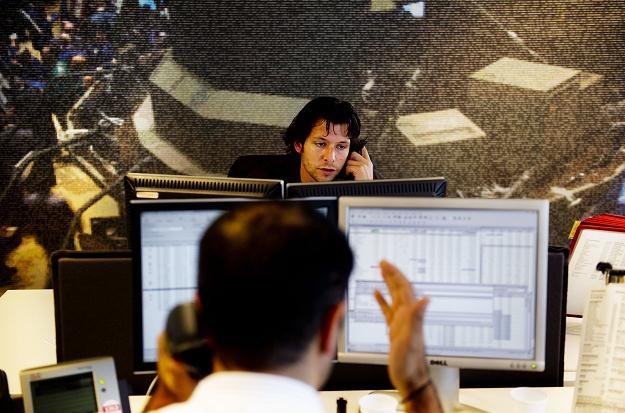 1300 pracowników funduszu inwestycyjnego przez  pół godziny drżało o swoją posadę /AFP