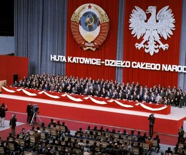 """14 grudnia 1976 r. Uroczyste otwarcie Huty Katowice. """"Dzieło całego narodu"""""""