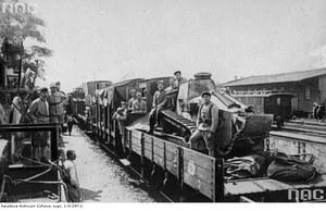 """14 kwietnia 1919 r. """"Błękitna armia"""" generała Józefa Hallera wyrusza do Polski"""