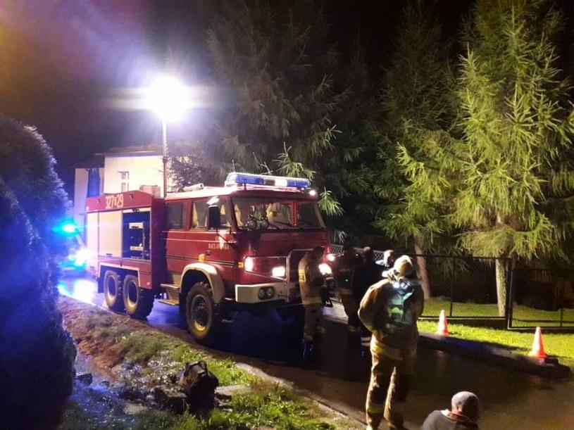 14-latek porażony prądem (Źródło: Ochotnicza Straż Pożarna w Racławówce) /facebook.com