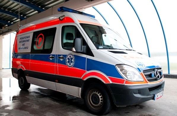 14-latek trafił do szpitala /RMF FM
