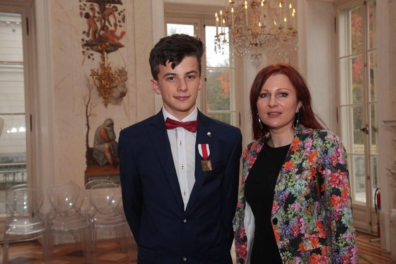 14-letni Jakub Vaugon /IPN /Twitter