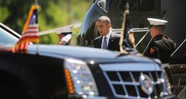 14 limuzyn, karetka, myśliwce, rentgen... Z tym jeździ Obama