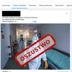 """""""14 osób zmarło po szczepieniu Johnson & Johnson"""" - uwaga na facebookowe oszustwo"""