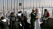 14 ślubów w Empire State Building w święto zakochanych