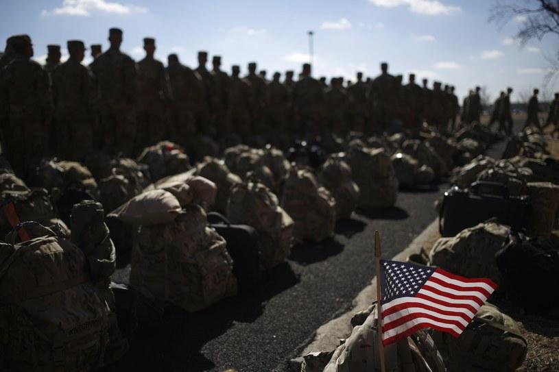 14 tys. Amerykanów stanowi główny element stacjonujących w Afganistanie sił NATO /LUKE SHARRETT /AFP
