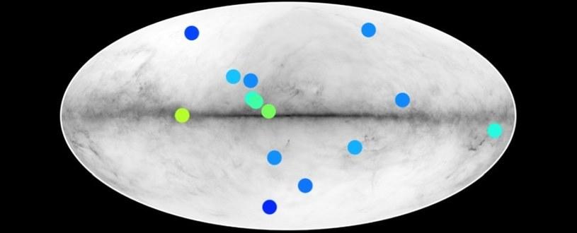 14 źródeł promieniowania gamma - 14 potencjalnych antygwiazd /materiały prasowe