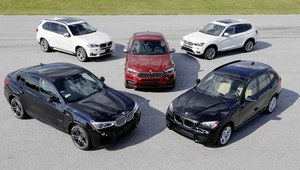 15 lat SUV-ów BMW