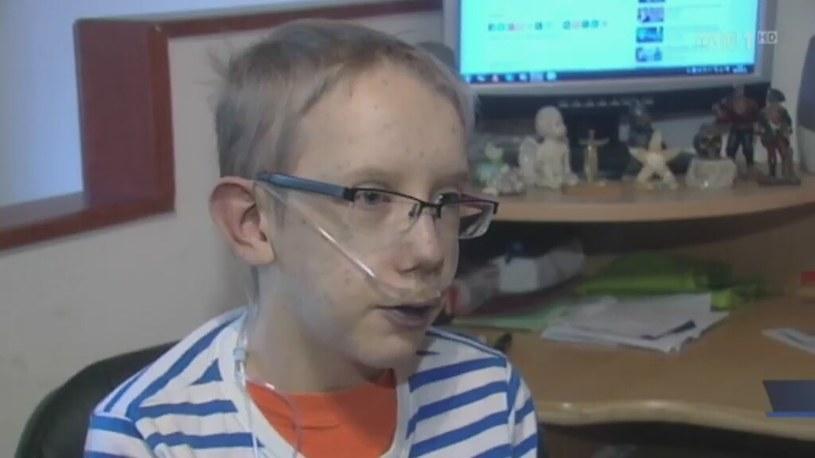 15-letni Wojtek walczy z ciężką chorobą /TVP