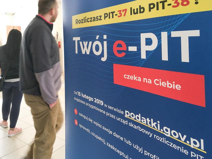 15 lutego rozpoczyna się okres rozliczeń e-PIT /Piotr Kamionka /Reporter