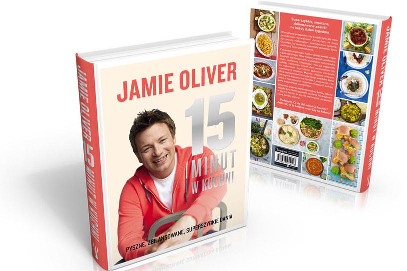 """""""15 minut w kuchni"""" Jamiego Olivera /materiały prasowe"""
