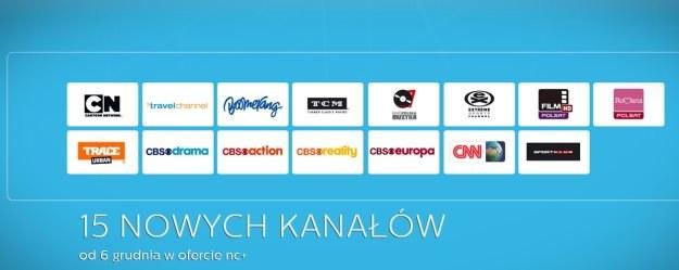15 nowych kanałów w ofercie nc+ /materiały prasowe