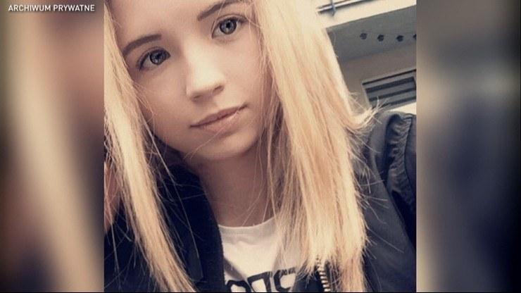 16-letnia Kornelia. Rodzina ma zastrzeżenia do pracy policji. /archiwum prywatne