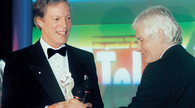 16 stycznia 1998 roku aktor odebrał Telekamerę z rąk Jerzego Webera, ówczesnego redaktora naczelnego Tele Tygodnia /Tele Tydzień