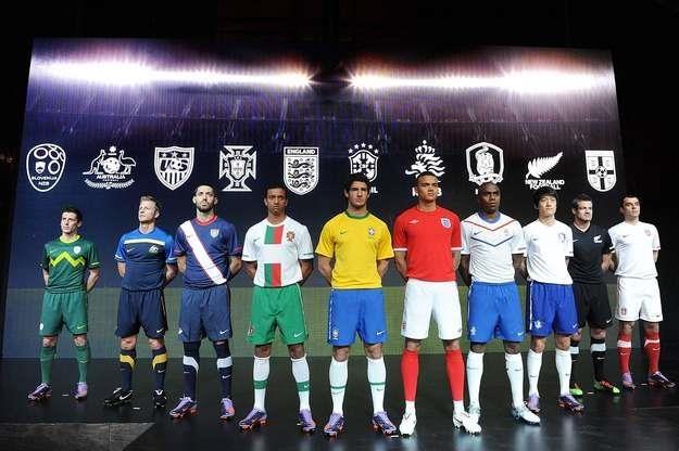 160 funtów zestaw meczowy Nike'a /AFP