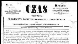"170 lat dziennika ""Czas"""