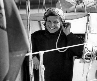 18 czerwca 1978 r. Krystyna Chojnowska-Liskiewicz zawija do portu w Gdańsku po rejsie dookoła świata