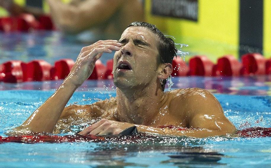 18-krotny mistrz olimpijski w pływaniu Michael Phelps /DAVE HUNT /PAP