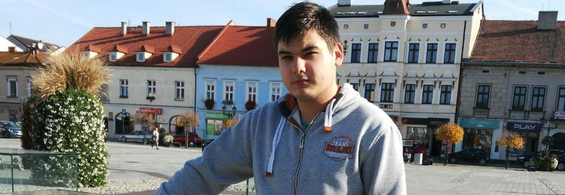 18-letni Rusłan, zdjęcie pochodzi ze strony zrzutka.pl /