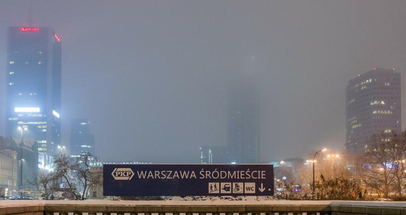 18 stycznia Warszawa znalazła się na liście 10 aglomeracji świata z najgorszym powietrzem /Tomasz Jastrzębowski /Reporter