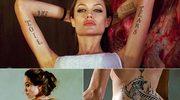 18. tatuaż Angeliny Jolie