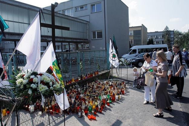 18 września 2009 r. w kopalni Wujek-Śląsk doszło do zapalenia i wybuchu metanu. Fot. M. Szalast /Agencja SE/East News