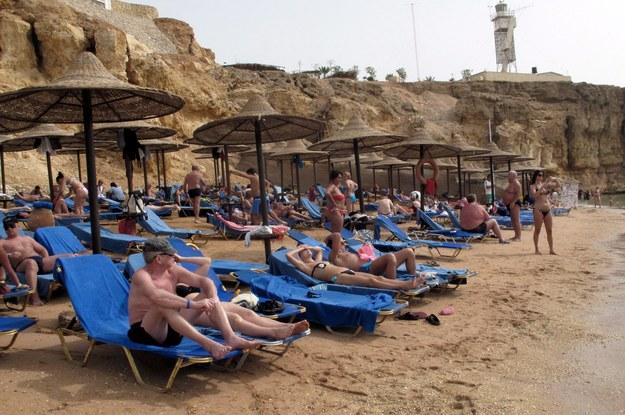 """19 klientów biura podróży """"Alfa Star"""" utknęło w Egipcie /KHALED ELFIQI   /PAP/EPA"""