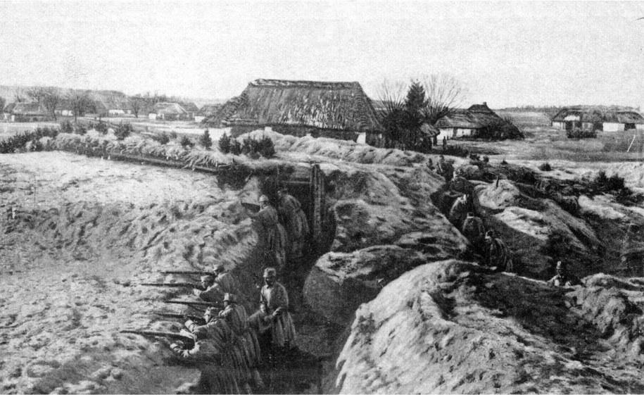 1915 r. Walki rosyjsko-austriackie o Przemyśl /Ze zbiorów Narodowego Archiwum Cyfrowego