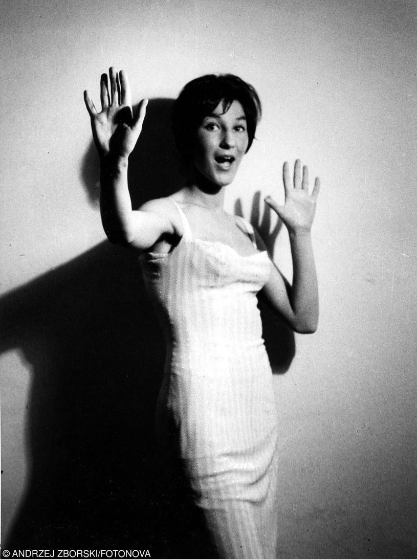 1960 Ludmila Jakubczak - piesniarka fot. Andrzej Zborski/FOTONOVA /East News