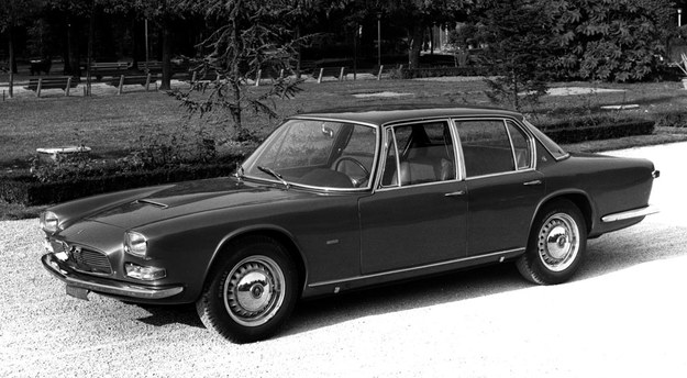 1963-1969, silniki V8 o pojemności 4,1 i 4,7 litra (256-285 KM), nadwozie zaprojektowane przez Pietro Frua; wyprodukowano 776 szt. /Maserati