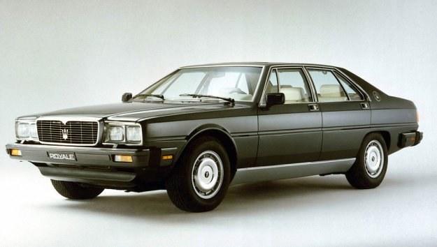 1976-1990, powrót do korzeni - tylny napęd oraz silniki V8 o pojemności 4,1 i 4,9 litra (255-300 KM), karoseria autorstwa Giorgetto Giugiaro; wyprodukowano około 2100 szt. /Maserati