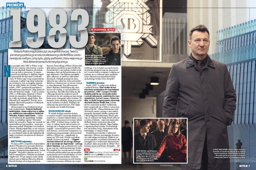 """1983"": Polski serial platformy Netflix /Bauer"