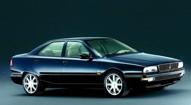 1994-2001, silniki 2.0 V6, 2.8 V6 oraz 3.2 V6 (284-335 KM), linie autorstwa Marcello Gandini; powstało około 2400 egzemplarzy /Maserati