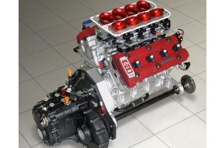 2.4 l, V8, 500 KM /