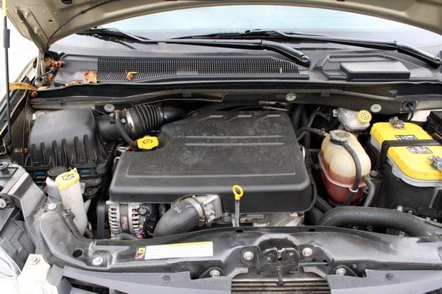 2,8 litrowy diesel nie jest sprinterem... /INTERIA.PL