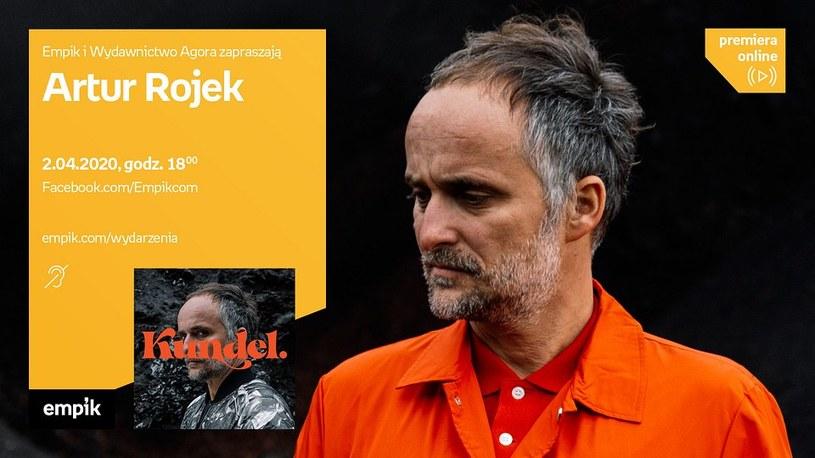 2 kwietnia odbędzie się e-spotkanie z Arturem Rojkiem /materiały prasowe