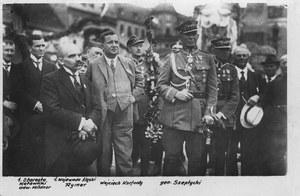 20 czerwca 1922 r. Powitanie wojsk polskich na Górnym Śląsku